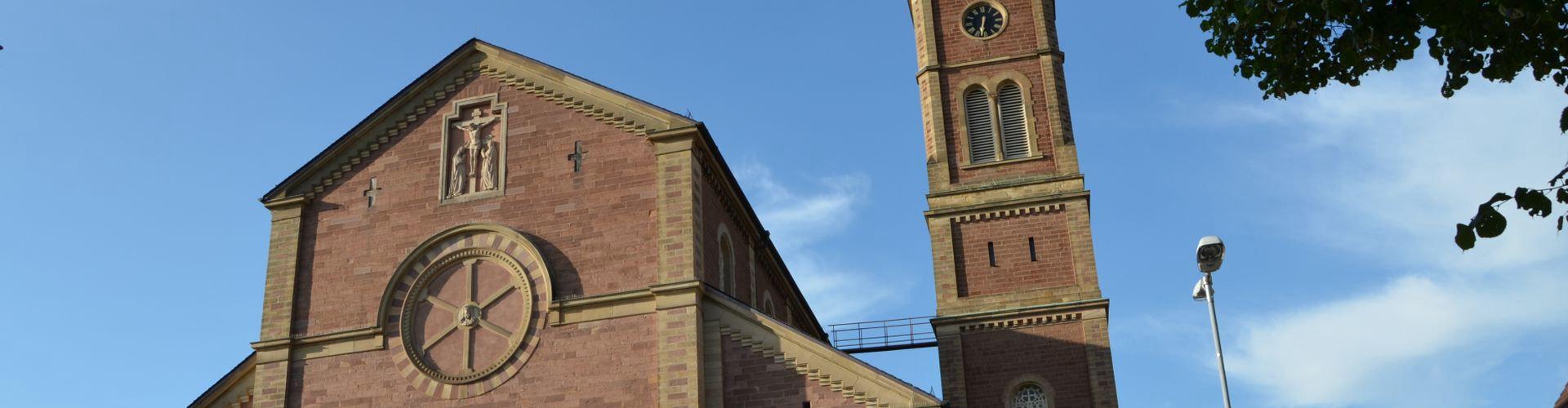 St. Cosmas und Damian Untergrombach / Quelle:  A. Konigorski