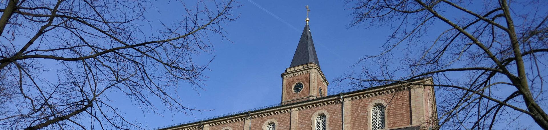 St. Cosmas und Damian Untergrombach / Quelle:  Barbara Fank-Landkammer